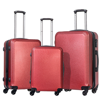 Merax Luggage 3 Piece Set Expandable Spinner with TSA Lock Suitcase PC+ABS with 4 Wheels Merax Products