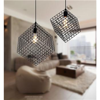 Merax 2 Pcs Metal Hanging Pendant Light Art Deco Cage Ceiling Light Merax Products