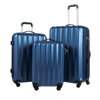 Merax 3 Piece Luggage Set Hardshell Suitcase ABS Material Merax Products