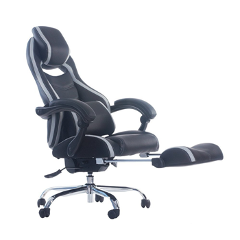 Merax Racing Style Executive PU Leather Swivel Chair with Footrest and Back Support Reclining Merax Products